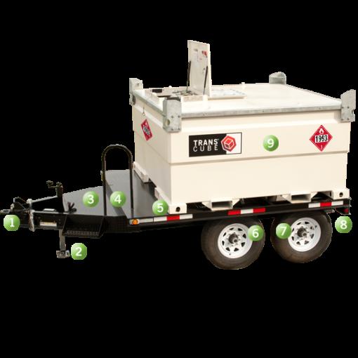 1240 Gallon Fuel Tank Trailer