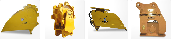 Felco Compaction Buckets for Backhoes and Skid Steers