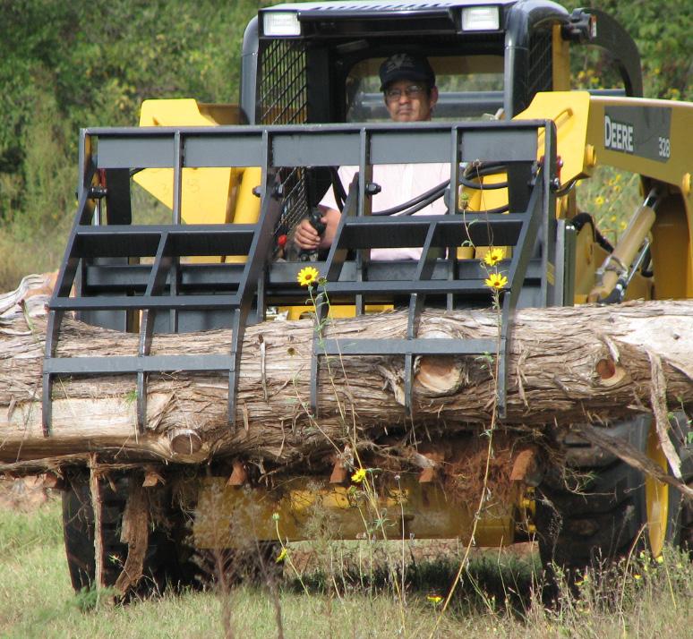 Heavy Duty Rake Grapple for Tractors  6' VASS 393506