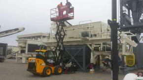 SKID-LIFT Scissorlift Attachment for Skidsteer/Tractor ANV-2030E