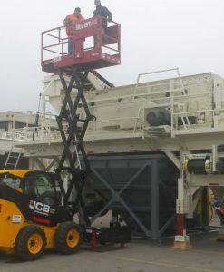 SKID-LIFT Scissorlift Attachment for Skidsteer/Tractor ANV-2030