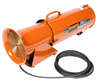 1/6 HP Ventilation Blower w/25 ft ducting - GEN-EP8DC25