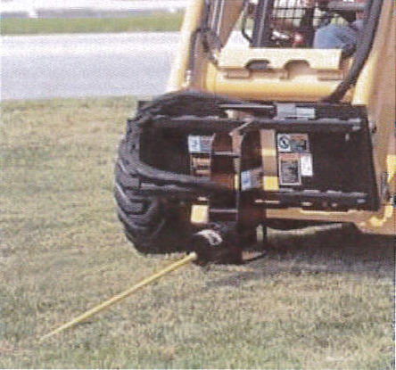 Boring Attachment for Skid Steer w Quick Attach Plate M4500SS