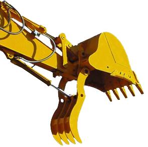 Rigid Thumb for Backhoes and Mini Excavators SLS-SET