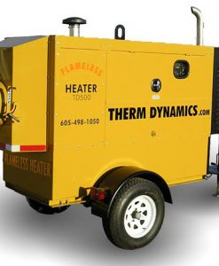 Flameless Sparkless Diesel Heater 425K BTU Towable TD400