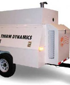 Flameless Sparkless Diesel Heater 750K BTU Towable TD750