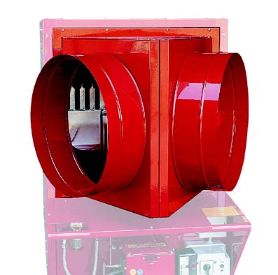 Duct Adapter for Jumbo 700 Acrotherm Heater