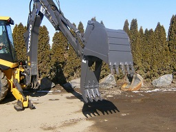 Bucket Thumb w/ Bucket for Backhoe orLight Excavator Loe BT1