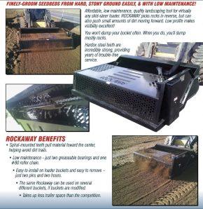 "74"" Hydraulic Rock Rake for Skid Steers - MDS2-7415H"