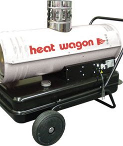 110k BTU Indirect-Fired Oil Heater Heat Wagon HVF110