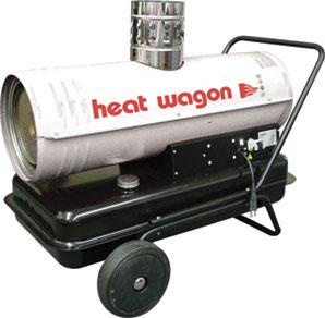 110k BTU Indirect-Fired Oil Heater Heat Wagon HVF110