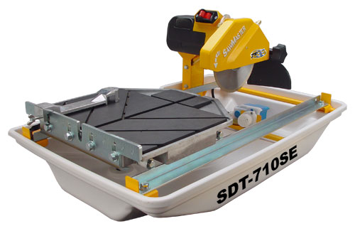 7 Inch Wet Tile Saw SDT 710SE from EQUIPMENTLAND