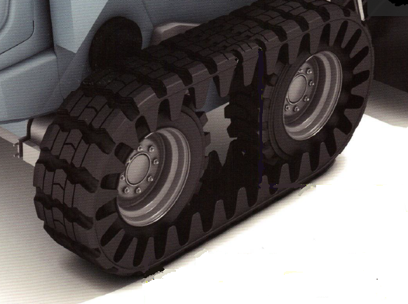 Rubber Track for Skid Steer TRO 450x86x55 18in wide