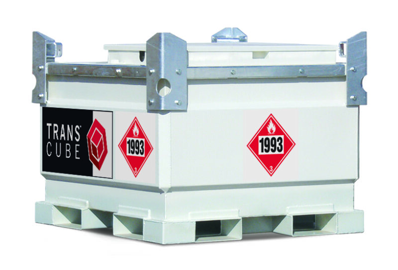 TransCube 792 Gal. Double Wall Fuel Tank with Trailer RT30TCG