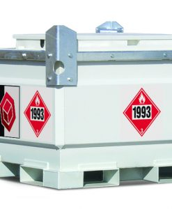TransCube 528 Gal. Double Wall Fuel Tank with Trailer