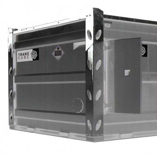 TransCube 2450 Gal. Double Wall Bulk Fuel Tank TCL100