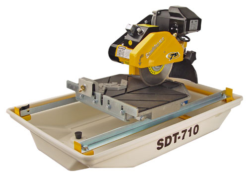 Wet Tile and Masonry Saw 7 Inch Blade Depth 1 3/4  SAW 710