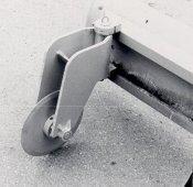 AI Heavy Duty 18 in. Moldboard-Mount Asphalt Cutter AI-160MB