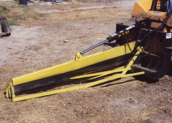 Bale Slicer with Skid Steer Mount PFM 600 30