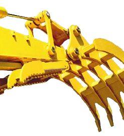 Excavator Rake for Machines 19,000 to 29,000 lbs. - SLS-SGR-1.5