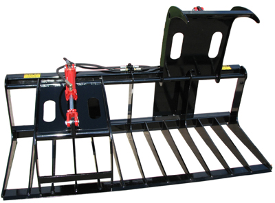 Compact Grapple for Skid Steer 6'  VASS 400106