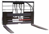 Hydraulic Pallet Fork w Moveable Tines; 5,500 lbs. Capacity; 42 in
