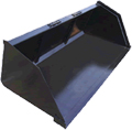 Snow Litter Bucket for Skid Steer 84 inch LOFL-84LFSL