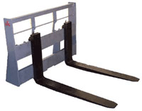 Super Max Pallet Forks; 9,000 lbs. Capacity; 48 in