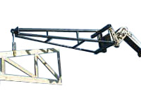 Telehandler Truss Boom for ASV; 12 ft