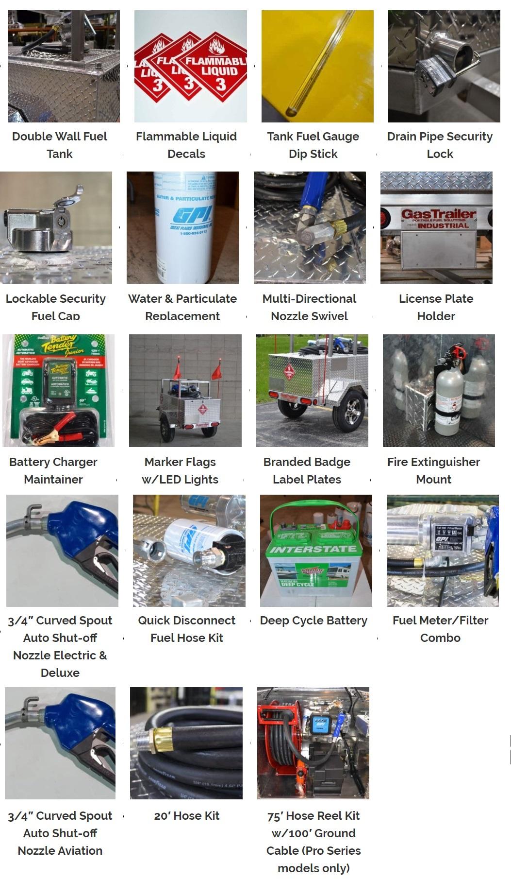 Gas Trailer Accessories